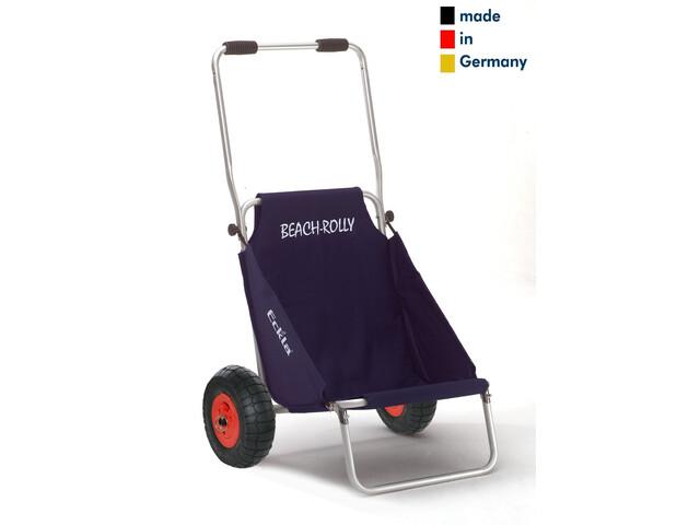 Eckla Beach-Rolly avec roues pneumatiques, blue uni